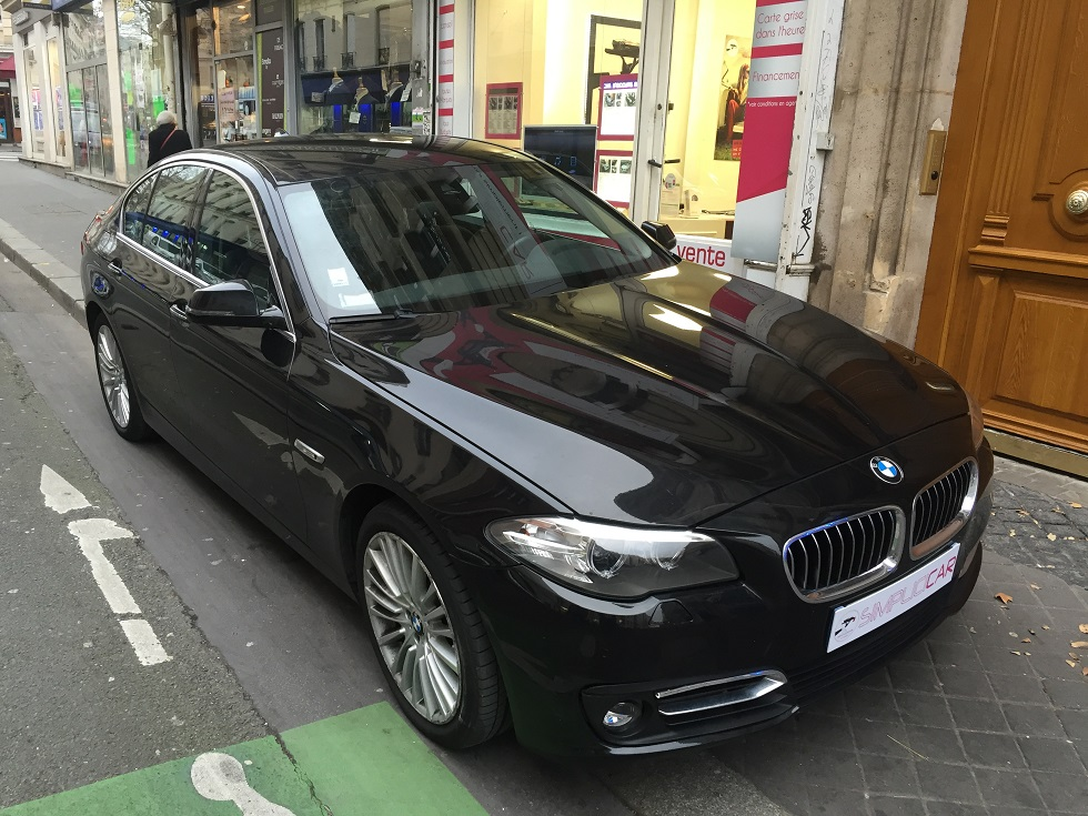 voiture bmw 520d 184 ch luxury a occasion diesel 2014 61500 km 25990 paris paris. Black Bedroom Furniture Sets. Home Design Ideas